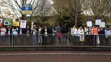 Lanchester teaching assistants' strike