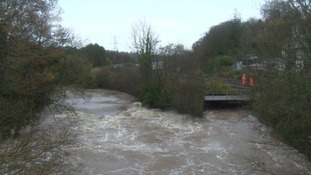 River at Cowley Bridge
