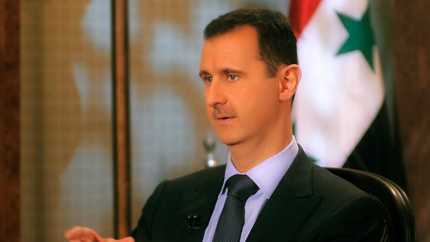 President Assad in August