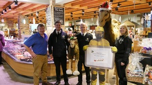Durham and Darlington Fire Services at Mainsgill Farm Shop