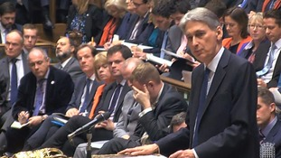 Philip Hammond delivering the Autumn Statement