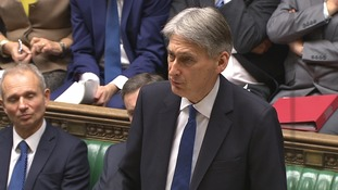 Chancellor Philip Hammond said the Government would accrue billions from new tax crackdown measures.