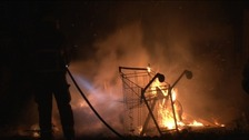 There are more illegal bonfires than any other night