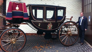 The ornate coach has wheeled through the city's streets for two hundred years