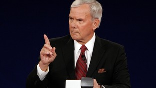 NBC news anchor Tom Brokaw