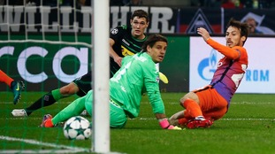 Borussia Monchengladbach 1-1 Man City: Champions League report
