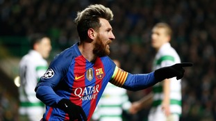 Celtic 0-2 Barcelona: Messi double knocks Celtic out of Europe
