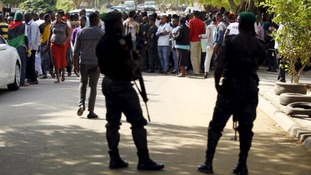 Nigerian military kills 150 protesters calling for breakaway state, Amnesty International says