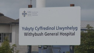 Withybush Hospital children's unit hours could be cut
