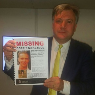 Norwich City chairman is helping in the search of missing Corrie McKeague