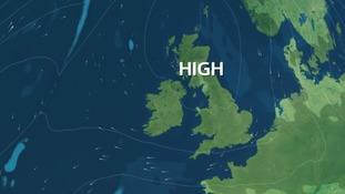 High pressure stays with us into the weekend
