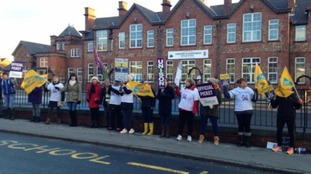 Durham Teaching Assistants are on strike