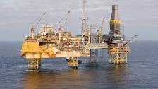 Elgin PUQ platform in the North Sea