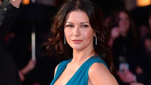 Catherine Zeta-Jones post bikini photos after paparazzi holiday shots