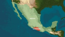 Guerrero state in southern Mexico.