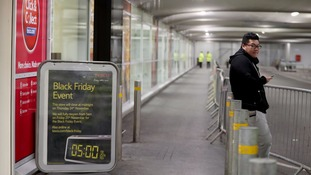 Slack Friday? Shops braced for record Black Friday rush find little need for crowd control