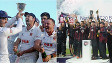 Both Essex and Northamptonshire will play a day/night game each
