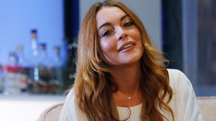 Lindsay Lohan apologies to Kettering over Christmas lights
