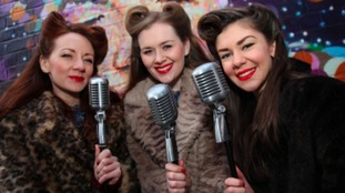 The Glamophones will keep visitors entertained at the Custard Factory's annual independent Christmas fair