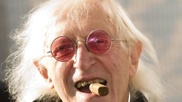 The late Sir Jimmy Savile