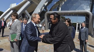 Vladimir Putin has warmed to actor Steven Seagal