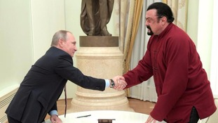 Steven Seagal has been given a Russian passport