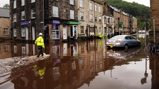 Flood-hit businesses in Hebden Bridge
