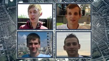Stephen Port (left), and victims Daniel Whitworth, Jack Taylor, Anthony Walgate, and Gabriel Kovari