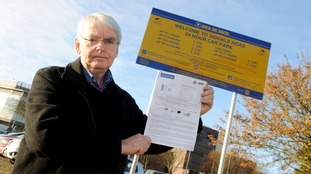 Furious motorist handed £65 fine after driving around a car park for 11 minutes and failing to find a space
