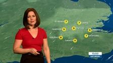 Weather: Dry, cold and cloudy with some sunny spells.