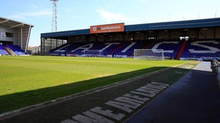 Boundary Park in Oldham.