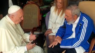 Pope Francis met Fidel Castro in 2015