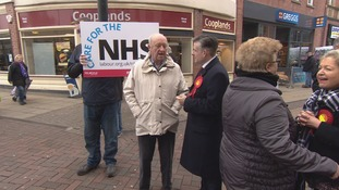 Shadow health secretary in Doncaster for NHS funding campaign