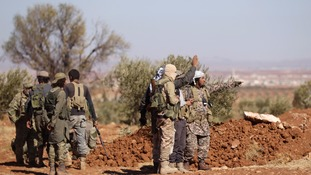 Isis attacks Syrian rebels with 'chemical gas' rocket