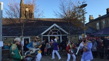 Entertaining the croweds: Mr Wilson's Second Liners
