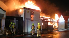 Families evacuated due to Essex Fire