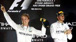 Rosberg ends Hamilton's reign as world champion