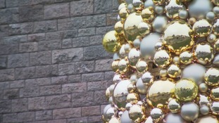 close up christmas tree