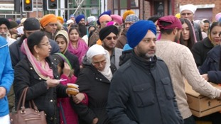 Thousands turn out for annual Sikh parade