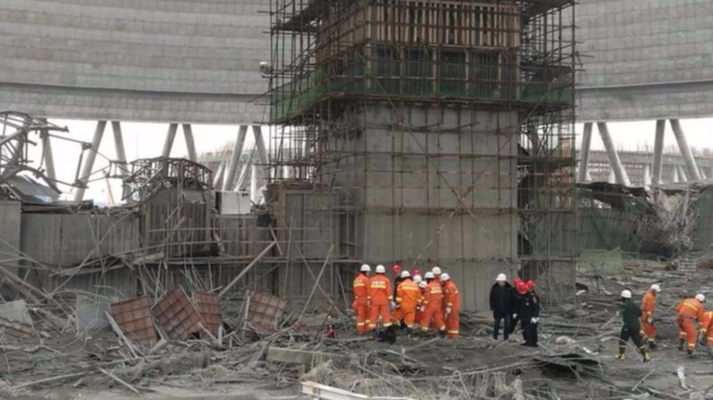 china  nine people held following power plant accident