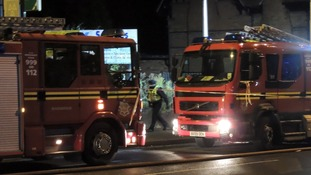 West Midlands Fire service were called shortly after 9pm on Tuesday 6th November