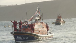Crowds welcome Scarborough's new £2m lifeboat