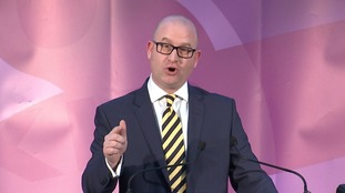 'Let's get out there and get cracking' Nuttall told his supporters.