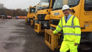 Gritters out as temperatures set to plummet overnight