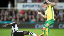 Mo Diame in action versus Norwich City