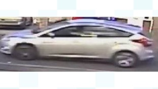 Appeal to car owner after girl approached by teenagers