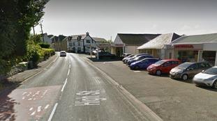 The A496 in Gwynedd