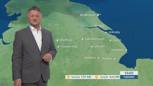 Morning weather forecast with Jon Mitchell