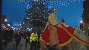 Protestors launch campaign to ban camel parade