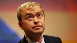 Liberal Democrat leader Tim Farron says there is 'no mandate' for a hard Brexit